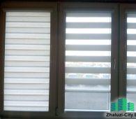 Касcетные рольшторы День-Ночь на балконные окна